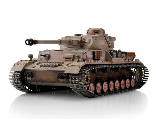 1/16 Torro German Panzer IV RC Tank 2 4GHz Infrared Metal
