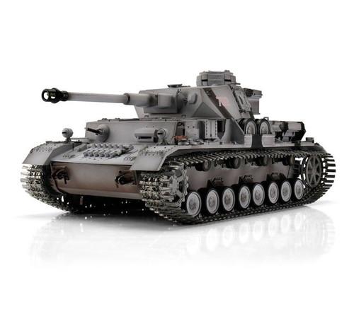 1/16 Torro German Panzer IV RC Tank 2.4GHz Infrared Metal Edition PRO Winter