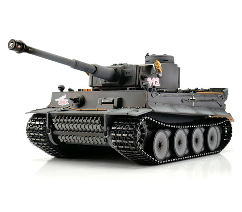 1/16 Torro Tiger I Early Version RC Tank 2.4GHz Infrared Metal Edition PRO