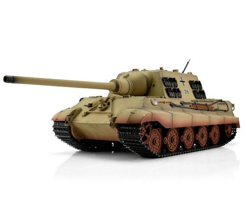 1/16 Torro German Jagdtiger RC Tank 2.4GHz Infrared Metal Edition PRO Desert Camo