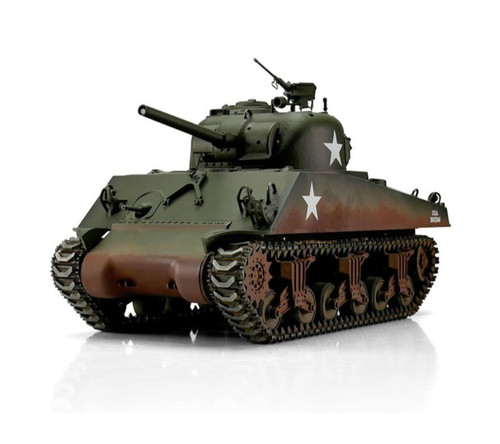 1/16 Torro Sherman M4A3 75mm RC Tank 2.4GHz Infrared Metal Edition PRO