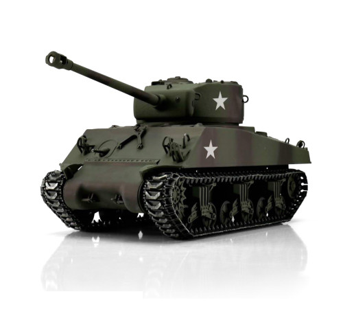 1/16 Torro Sherman M4A3 76mm RC Tank 2.4GHz Infrared Metal Edition PRO
