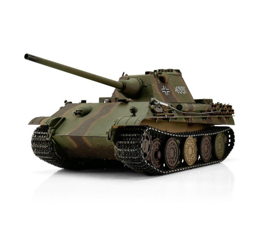 1/16 Torro German Panther Ausf F RC Tank 2.4GHz Infrared Metal Edition PRO