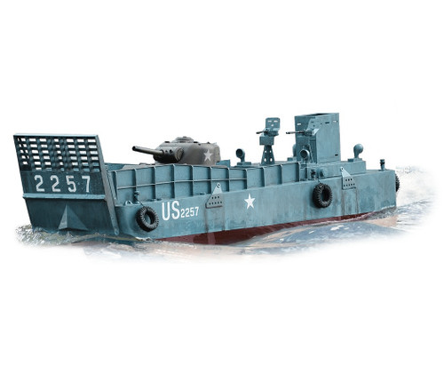 1/16 Torro Normandy Landing Craft LCM3 RC Boat Electric 2.4GHz