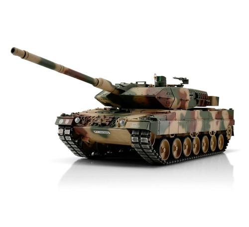 1/16 Torro Leopard 2A6 RC Tank 2.4GHz Airsoft Metal Edition PRO Mediterran Summer Camo