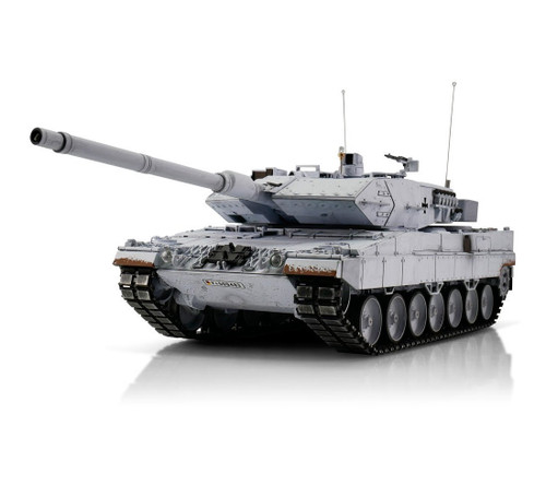 1/16 Torro Leopard 2A6 RC Tank 2.4GHz Infrared Metal Edition PRO (UN) United Nations