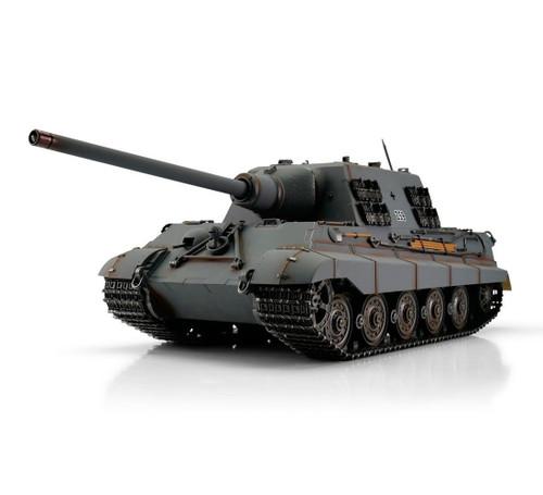 1/16 Torro German Jagdtiger RC Tank 2.4GHz Infrared Metal Edition PRO Grey