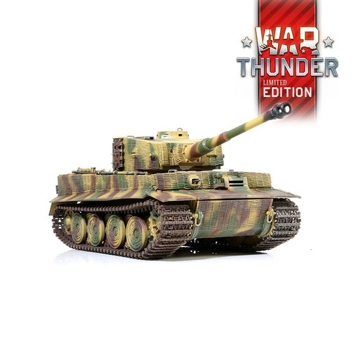 1/24 German Tiger I Late Version RC Tank 2.4GHz Infrared RTR War Thunder Edition