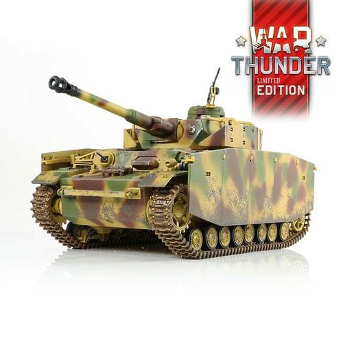 1/24 German Panzer IV Ausf. H RC Tank 2.4GHz Infrared RTR War Thunder Edition