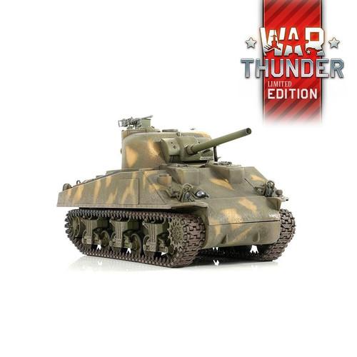 1/24 U.S M4A3 Sherman RC Tank 2.4GHz Infrared RTR War Thunder Edition