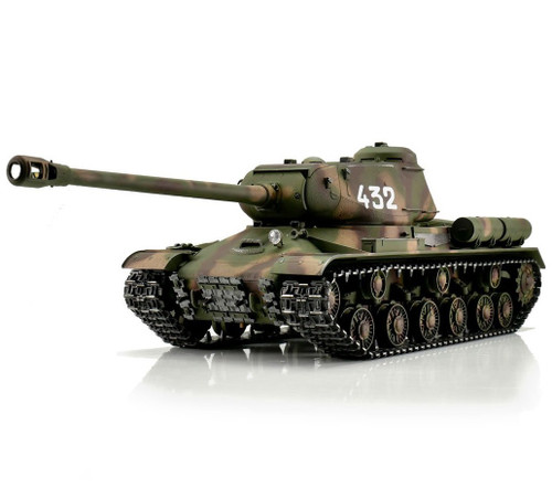 1/16 Torro Russian IS-2 RC Tank 2.4GHz Airsoft Metal Edition PRO Camo 1944