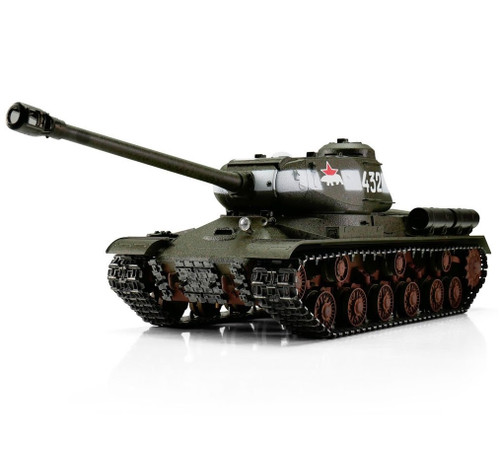 1/16 Torro Russian IS-2 RC Tank 2.4GHz Airsoft Metal Edition PRO 1944