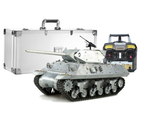 1/16 Mato US M10 Wolverine RC Tank Destroyer Infrared 2.4GHz 100% Metal with Aluminum Carrying Case