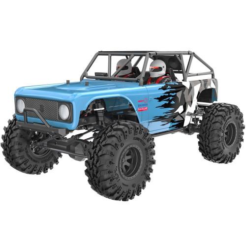 1/10 Rock Racer Wendigo RC Monster Truck Electric Brushless 2.4GHz Blue