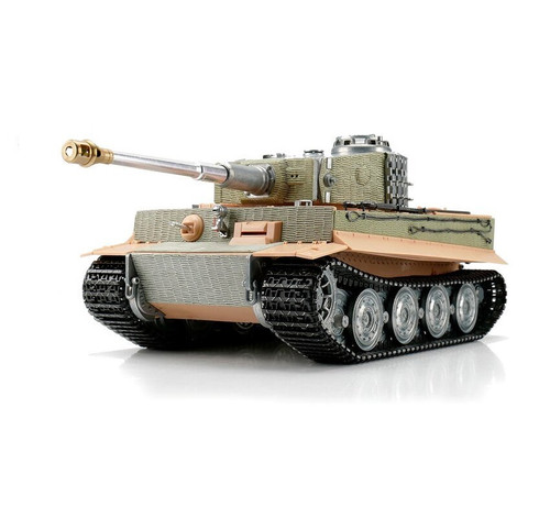1/16 Torro Tiger I Late Version RC Tank 2.4GHz Infrared Metal Edition Unpainted
