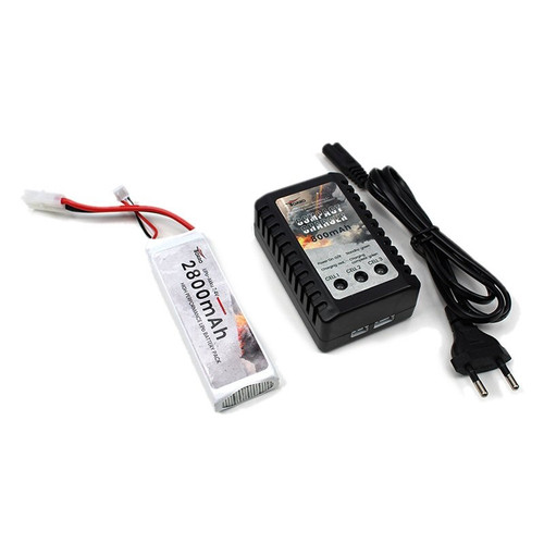 Torro Normandy Landing Craft LCM3 RC Boat Rechargeable Battery & EU Charger