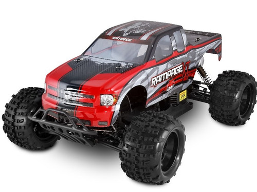 1/5 Rampage XT Gas RC Monster Truck 2.4GHz Red