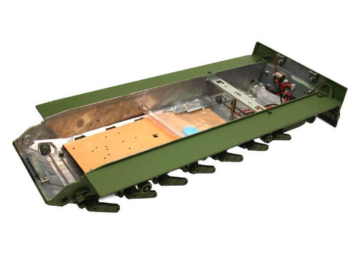 1/16 Torro Leopard 2A6 RC Tank Metal Lower Hull Chassis with Suspension Arms