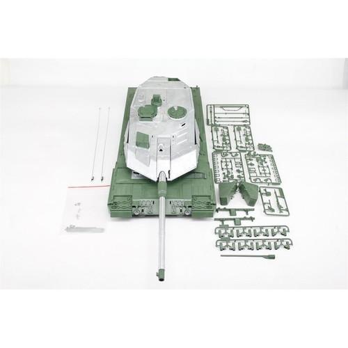 1/16 Torro Leopard 2A6 RC Tank Metal Turret Plastic Upper Hull Airsoft Unpainted