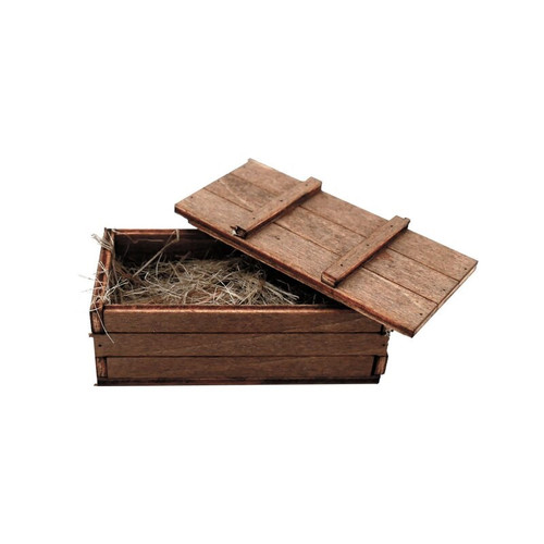 1/16 Torro RC Tank One Wooden Ammo Crate Box Accessories B