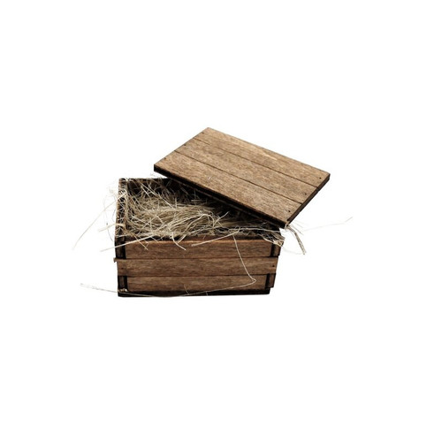 1/16 Torro RC Tank One Wooden Ammo Crate Box Accessories C