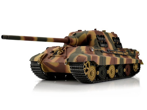 1/16 Torro German Jagdtiger RC Tank 2.4GHz Airsoft Metal Edition PRO Camo with Barrel Recoil