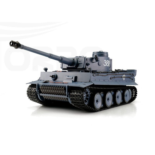 1/16 Heng Long German Tiger I RC Tank Airsoft & Infrared 2.4GHz TK6.0S