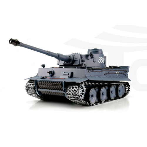 1/16 Heng Long German Tiger I RC Tank Airsoft & Infrared 2.4GHz TK6.0S Metal Upgrades