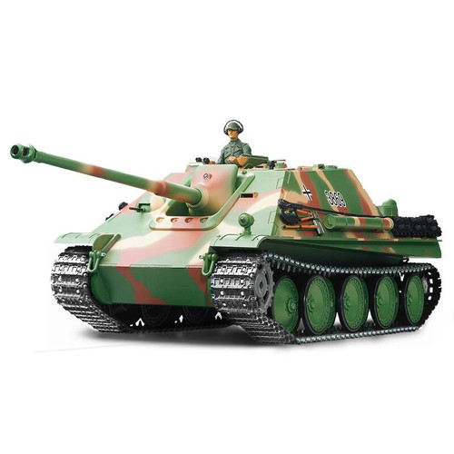 1/16 Heng Long German Jagdpanther RC Tank Airsoft & Infrared 2.4GHz TK6.0 Metal Upgrades