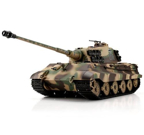 1/16 Heng Long German King Tiger Henschel RC Tank Airsoft & Infrared 2.4GHz TK6.0S