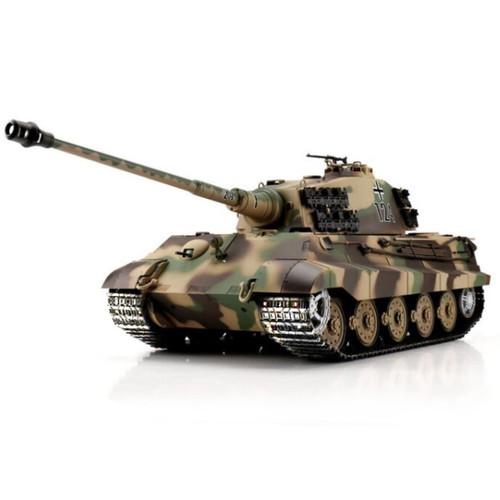 1/16 Heng Long German King Tiger Henschel RC Tank Airsoft & Infrared 2.4GHz TK6.0S Metal Upgrades