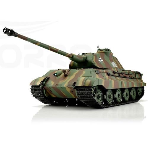 1/16 Heng Long German King Tiger Porsche RC Tank Airsoft & Infrared 2.4GHz TK6.0