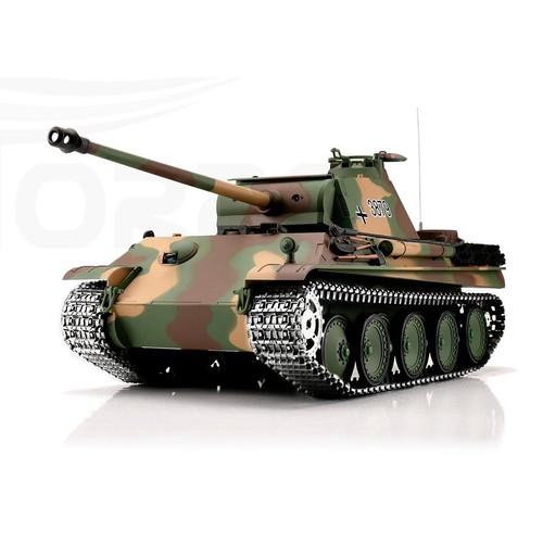 1/16 Heng Long German Panther G RC Tank Airsoft & Infrared 2.4GHz TK6.0 Metal Upgrades
