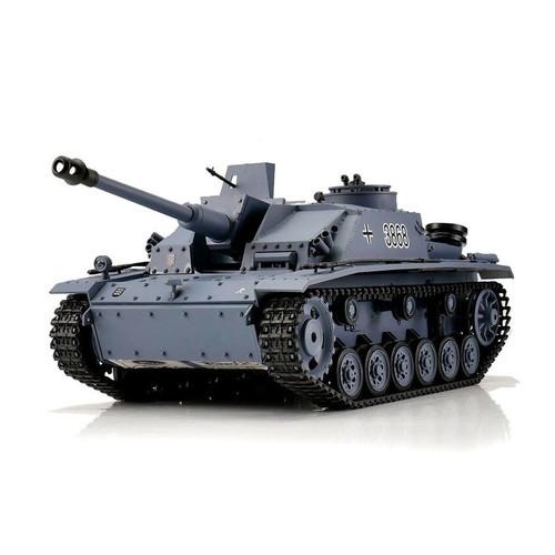 1/16 Heng Long German StuG III RC Tank Airsoft & Infrared 2.4GHz TK6.0