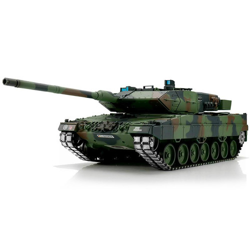 1/16 Heng Long German Leopard 2A6 RC Tank Airsoft & Infrared 2.4GHz TK6.0S Metal Upgrades