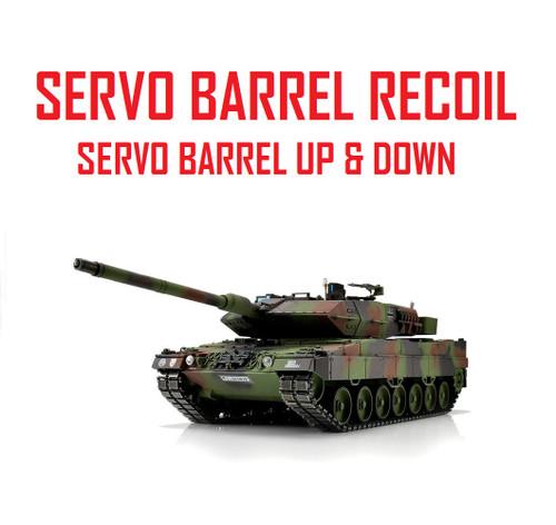 1/16 Torro Leopard 2A6 RC Tank 2.4G IR Metal Edition PRO NATO Servo Recoil