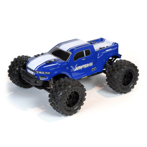 1/16 Volcano RC Monster Truck 4WD Electric  2.4GHz Blue