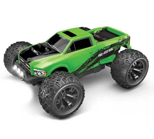 1/10 RC-MT10E RC Monster Truck 4WD Brushless 2.4GHz Green