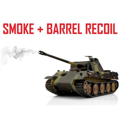 1/16 Torro German Panther G RC Tank 2.4G IR Metal Edition PRO Smoke Barrel