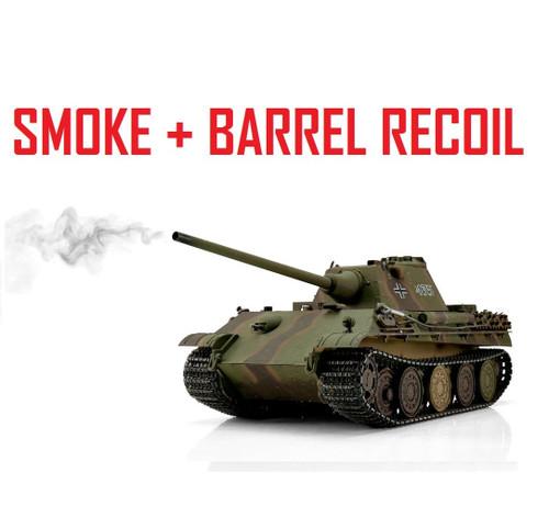 1/16 Torro German Panther F RC Tank 2.4G IR Metal Edition PRO Smoke Barrel