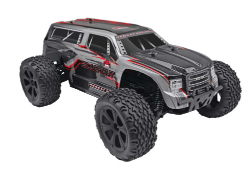1/10 Blackout XTE PRO RC Monster Truck 4WD Brushless 2.4GHz Silver SUV