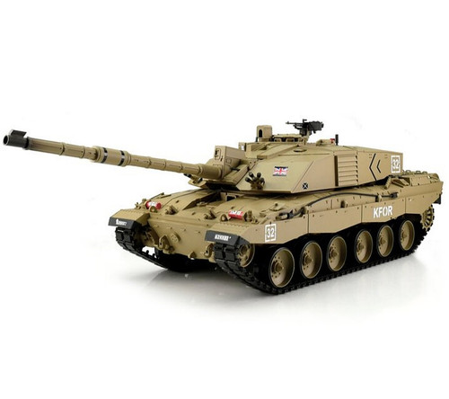 1/16 Heng Long British Challenger 2 RC Tank Airsoft & Infrared 2.4GHz TK6.0S