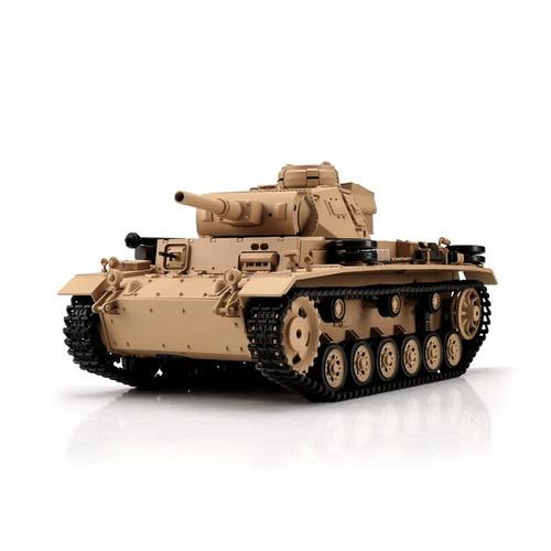 1/16 Heng Long German Panzer III 2 RC Tank Airsoft & Infrared 2.4GHz TK6.0