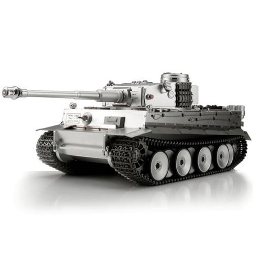 1/16 Scale Heng Long German Tiger I RC Tank Airsoft 2.4GHz Full Metal Smoke Barrel