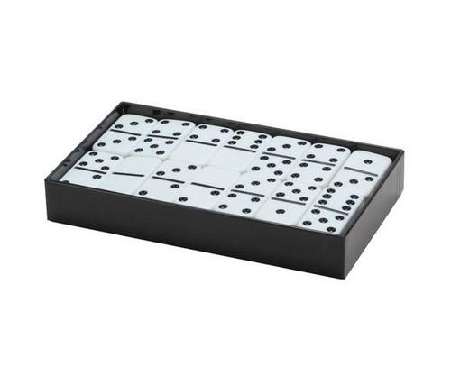 Dominoes Double 6 Jumbo Size White Color