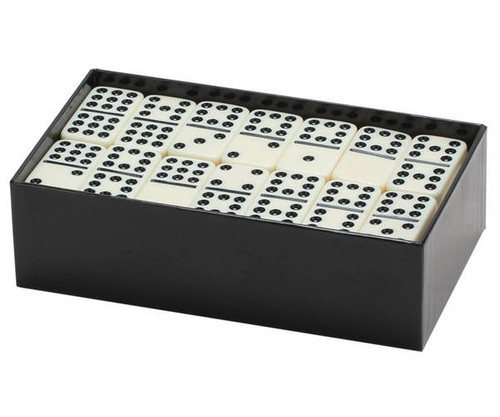 Dominoes Double 9 Jumbo Size Ivory Color