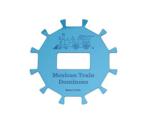 12 Player Acrylic Mexican Train Center Hub