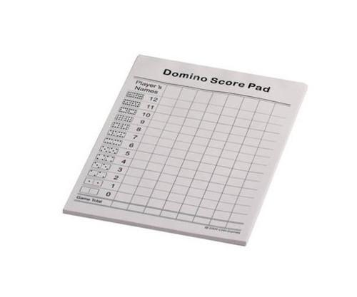 Dominoes Score Tracker 50 Sheets