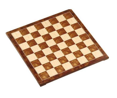 """15"""" Fancy Wooden Chess Board"""