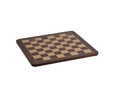 """19"""" Deluxe Burl Veneer Chess Board"""